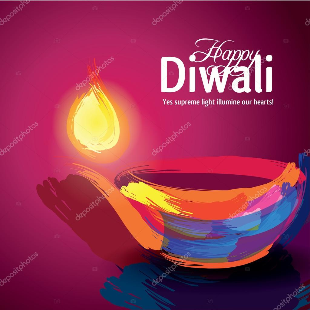 Poster design vector download - Indian Holiday Diwali Poster Design Stock Vector 87235004