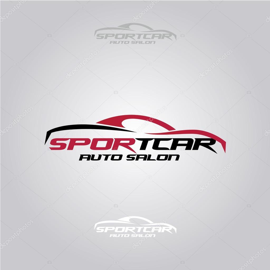 logo de concessionnaire de voiture sport image vectorielle artemon91 87238896. Black Bedroom Furniture Sets. Home Design Ideas