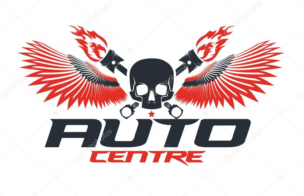 Auto Dealer Logo Template Stock Vector C Artemon91 87239030