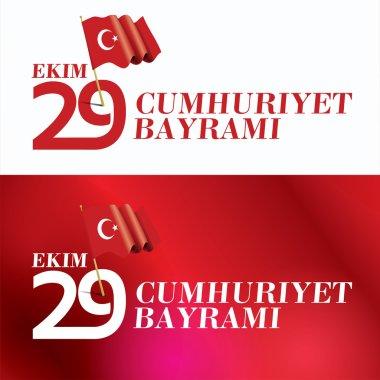 Turkey Republic Day Greeting Card