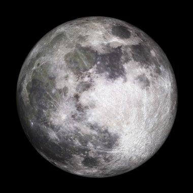 Full moon - 3D Render