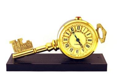 Clock as a key