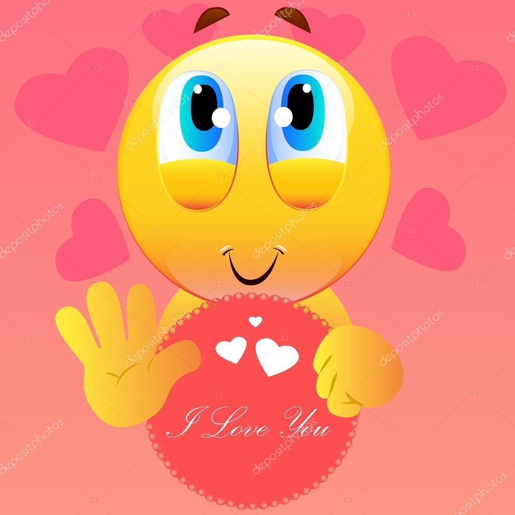 ich liebe dich smiley