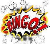 Fényképek Bingo - képregény stílus word