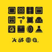 Photo furniture icons