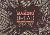 Pečení chleba rámeček