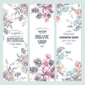 Fotografie Floral banner collection