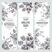 Floral Banner Sammlung