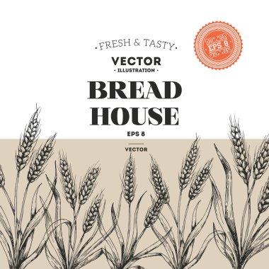 Bread design template