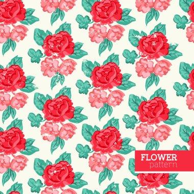 Shabby Chic Flower Pattern