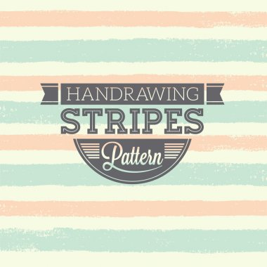 Handrawing Stripes Pattern