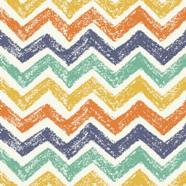 Handrawing Zigzag Pattern. Vector illustration clip art vector