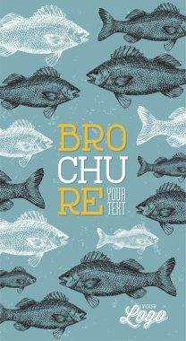 Fish Pattern Brochure
