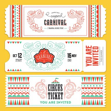 Vintage Circus banner collection