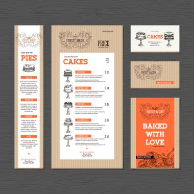 Bakery corporate identity
