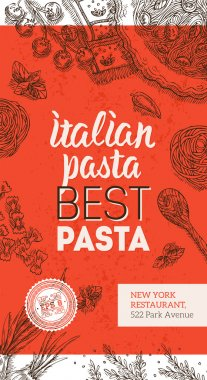Italian Pasta Brochure