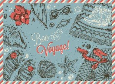 Vacation Frame Bon Voyage