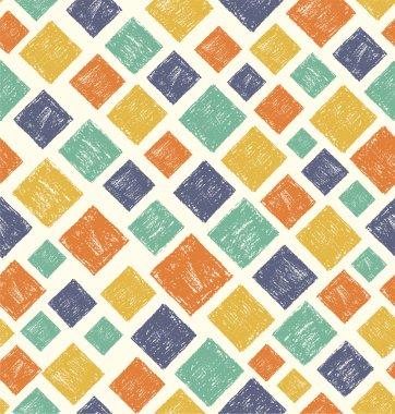 Handrawing Rectangle Pattern. Vector illustration stock vector