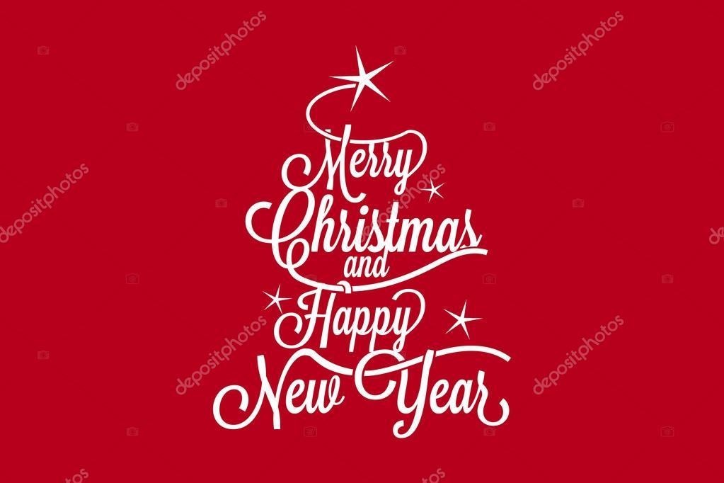 Frohe Weihnachten und guten Rutsch ins neue Jahr — Stockvektor © mm ...