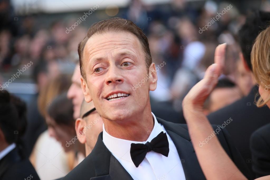 Турин италия июня 2018 известный актер рокко сиффреди встречает.