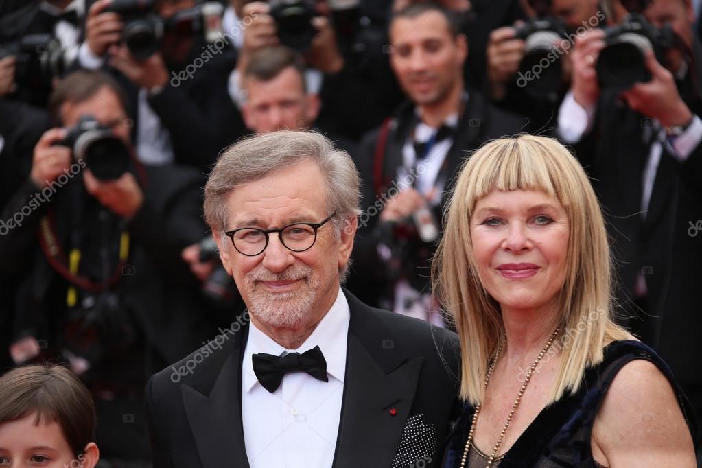 Kate Capshaw Steven Spielberg Stock Editorial Photo