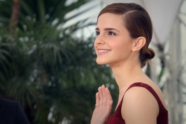 Actress Emma Watson attends 'The Bling Ring' photocall