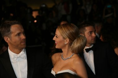 Ryan Reynolds  and Blake Lively attend 'The Captive' premiere