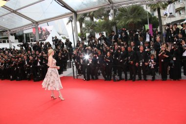 A general atmosphere of the 'Grace of Monaco' premiere