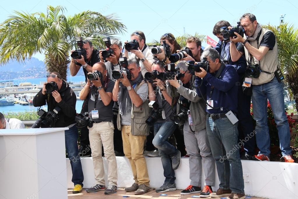 Photographers attends the 'Grace of Monaco' photocall