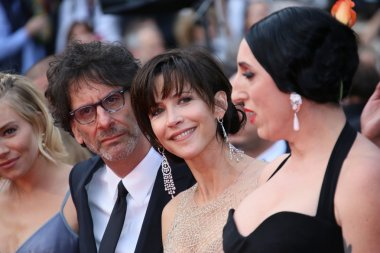 Rossy de Palma, Joel Coen and Sophie Marceau