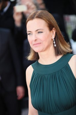 Carole Bouquet during the 68th annual Cannes Film Festival