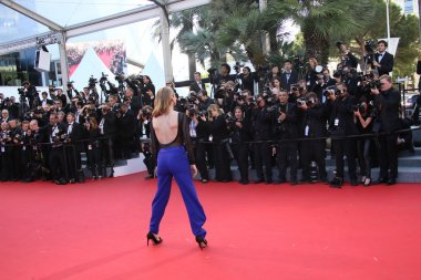 Charlotte Vandermeersch during the 68th annual Cannes Film Festival