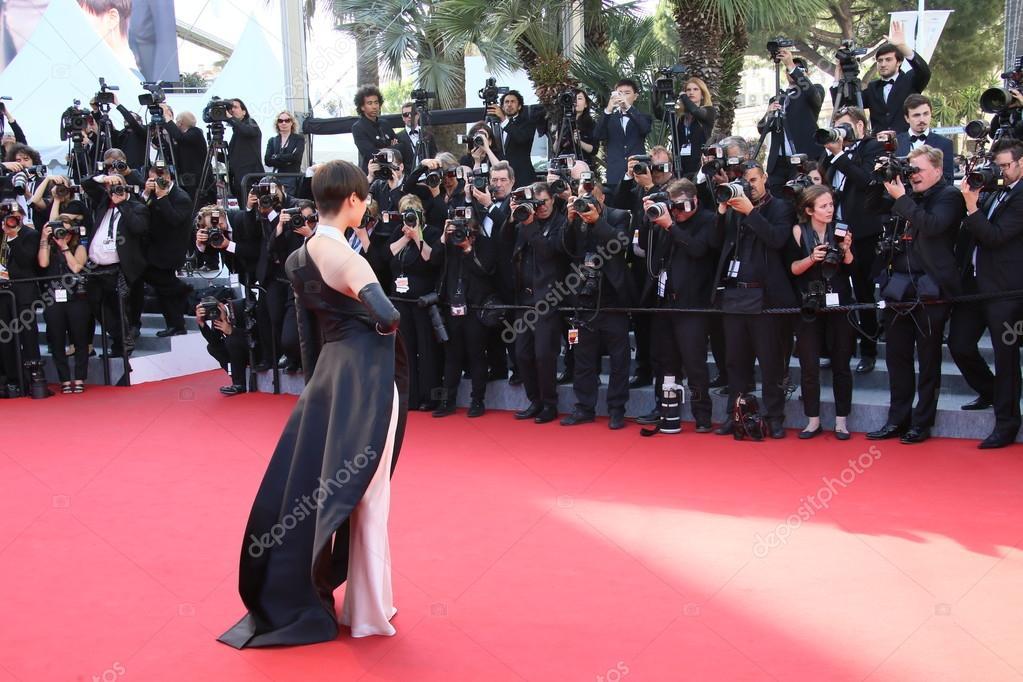 Li Yuchun during the 68th annual Cannes Film Festival