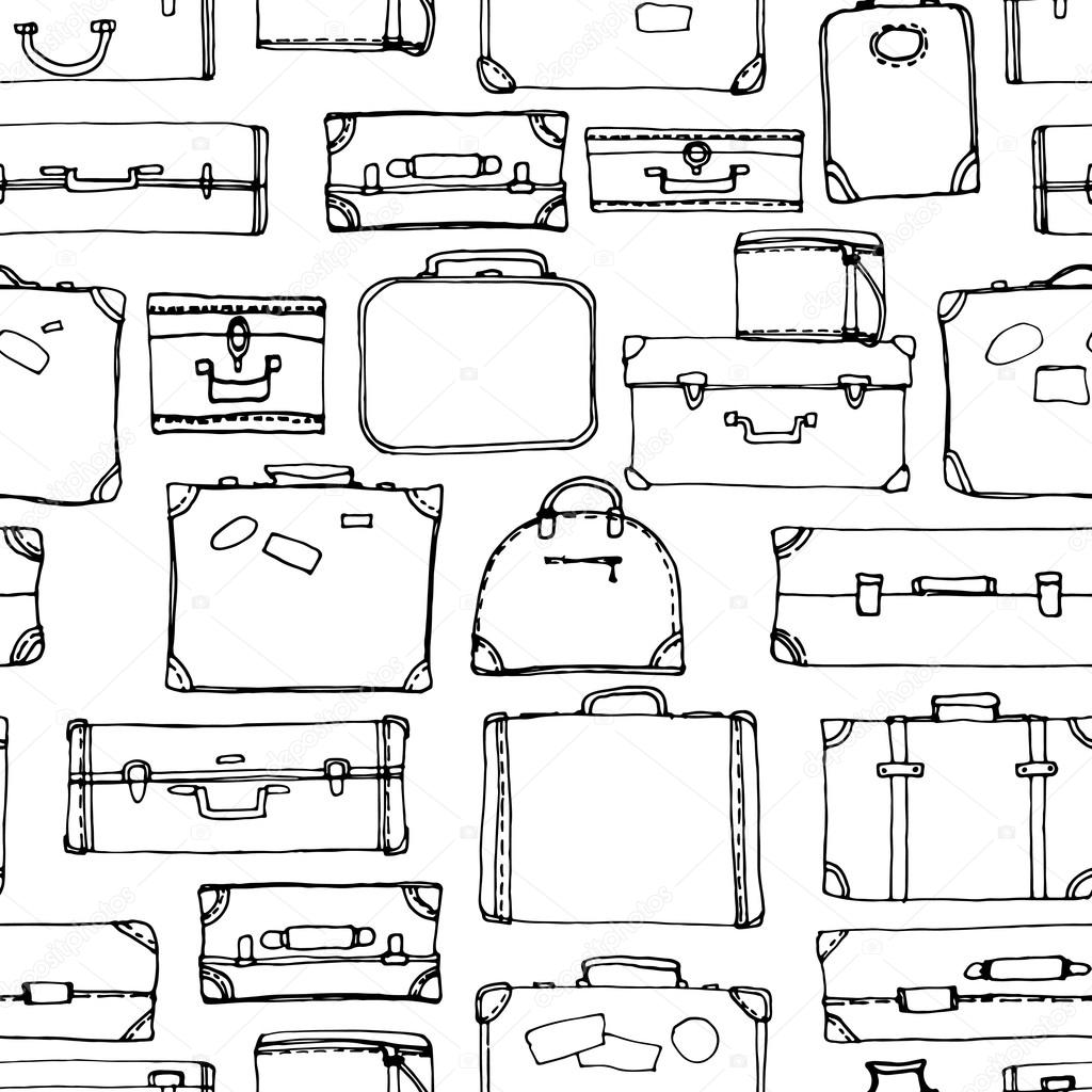 Fondos para maletas | fondo transparente con maletas de viaje ...