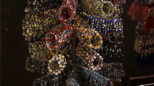 vendita gioielli Bracciali con Nazar amuleto sul mercato a Istanbul