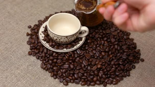 Turecká káva a kávové boby