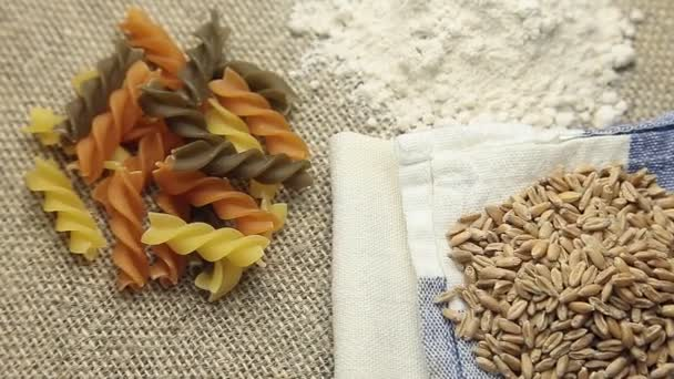 Rotate Pasta, flour and wheat