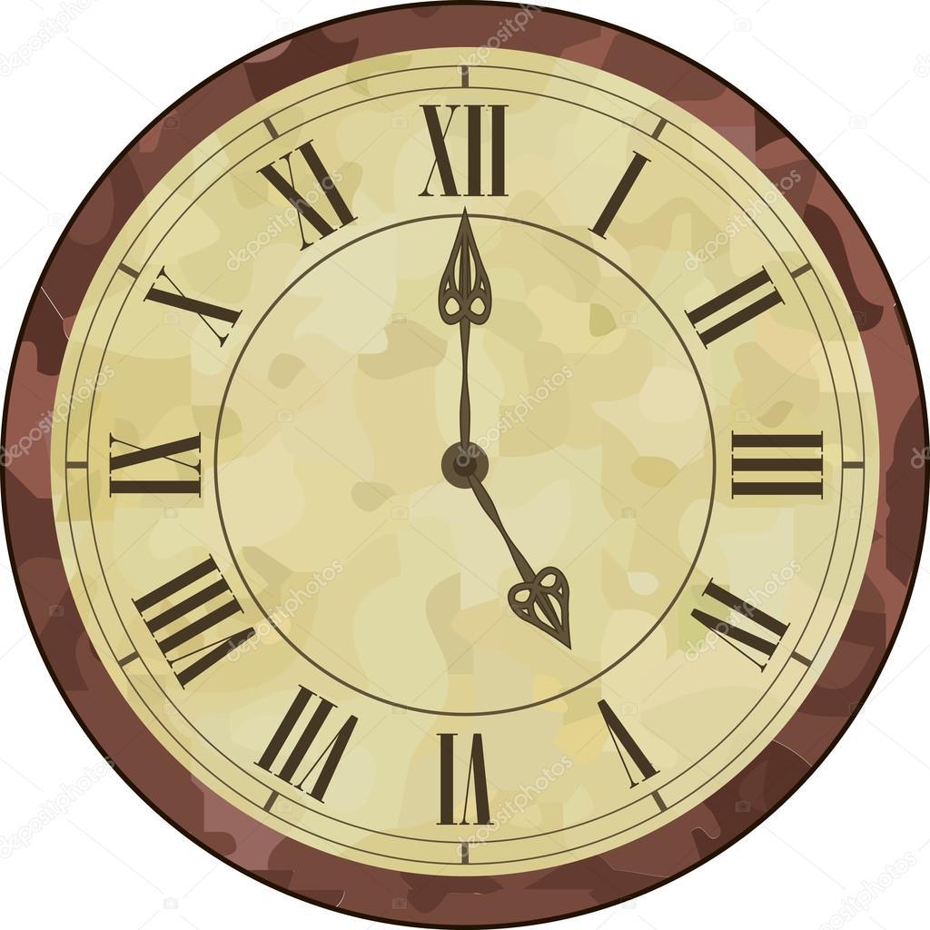 Foto Reloj Con Numeros Romanos Reloj De N 250 Meros Romanos