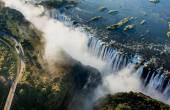 Fényképek Viktória-vízesés és a környező terület a nemzeti park