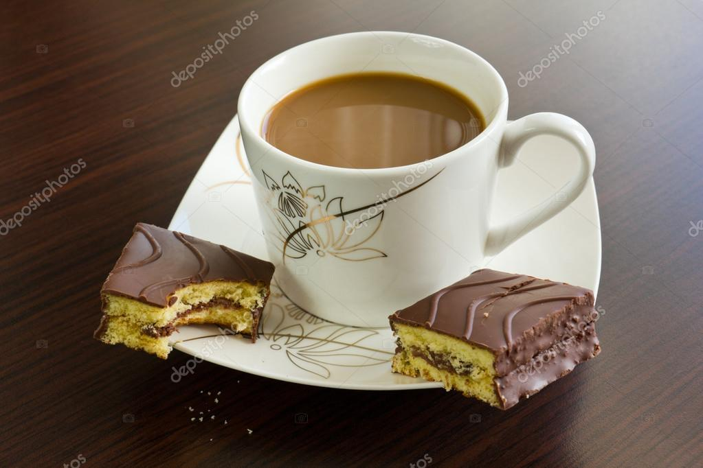 Afternoon coffee and cake — Stock Photo © marcinmichalczyk #72576635 #afternoonCoffee