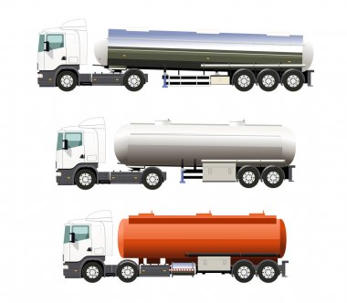 Heavy fuel truck