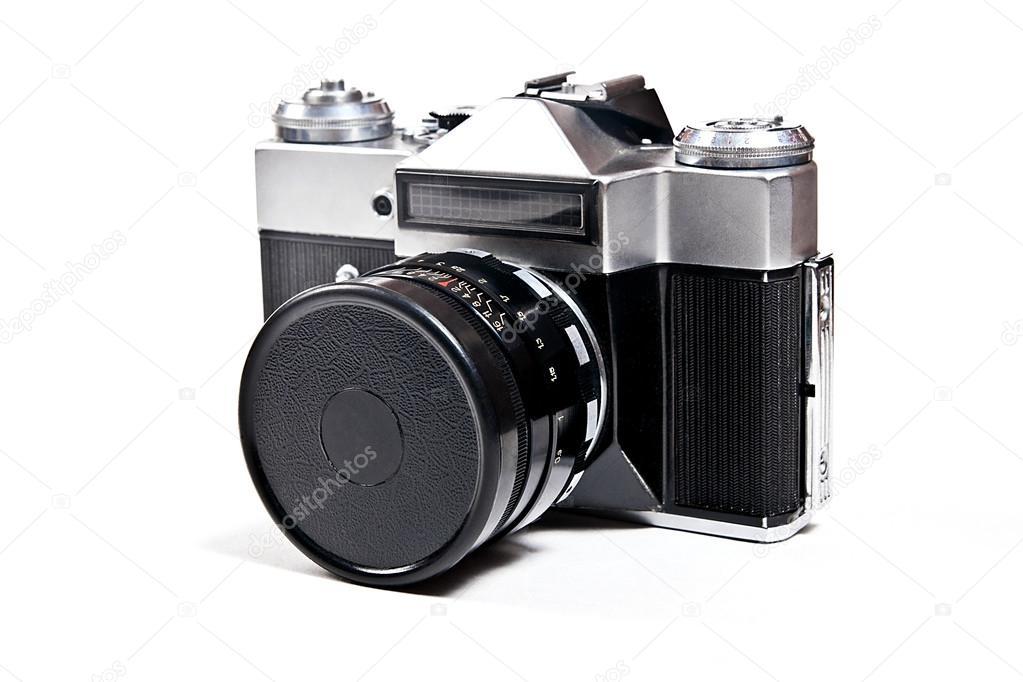 Entfernungsmesser Mit Sucher : Alten entfernungsmesser jahrgang fotokamera auf weißem hintergrund