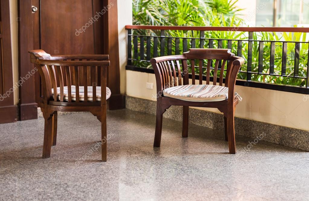 fauteuils met kussens, interieur stijl — Stockfoto © Satura_ #112566568