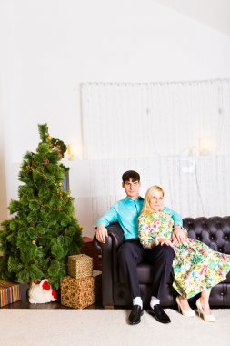 Christmas Couple. New year