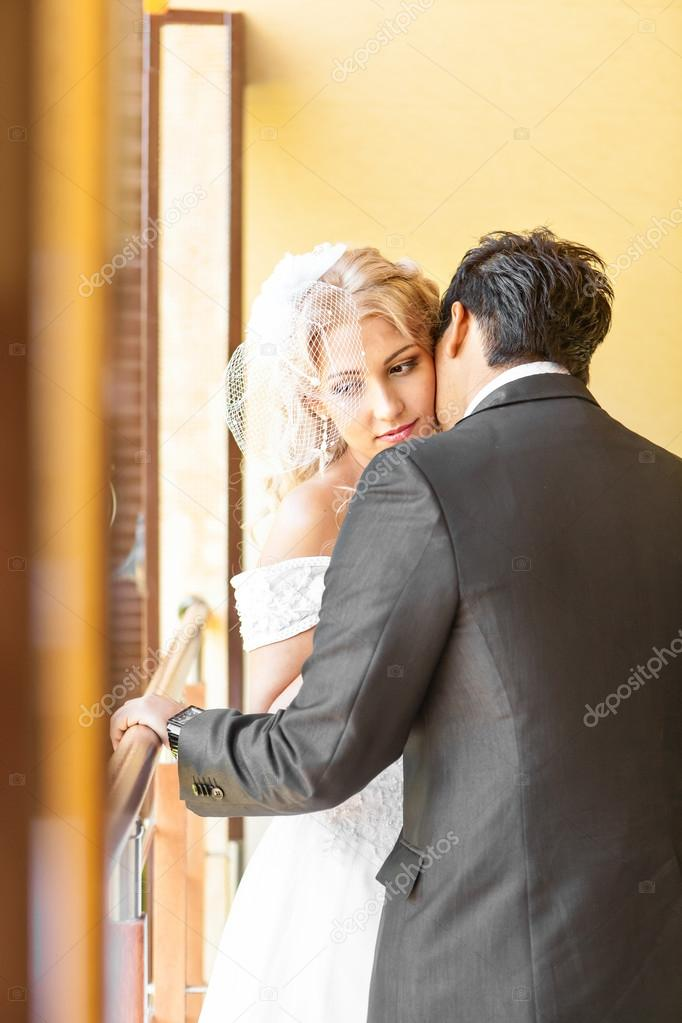 Beautiful Wedding Husband And Wife Lovers Man Woman Bride And Groom Photo By Satura_