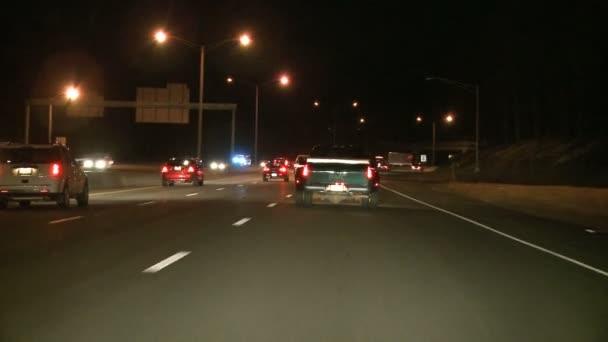 Highway traffic in USA