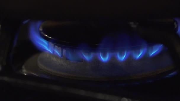 Gasherd brennt