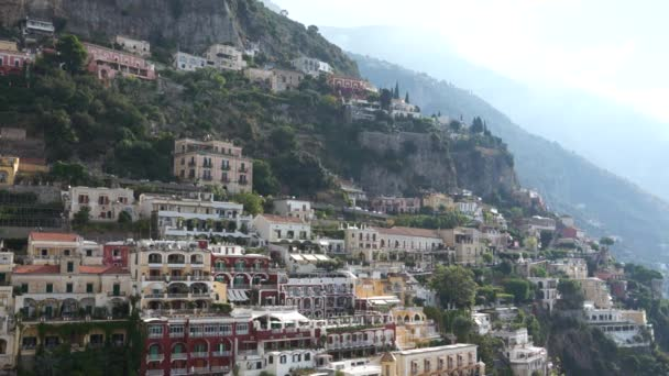 Città di Positano in Italia