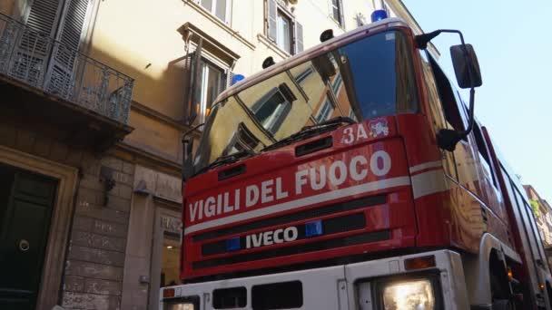 Firetruck v Římě