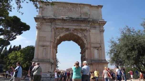 oblouk titus v Římě